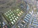 ForestHill Lakópark a levegőből Budapest II. kerület